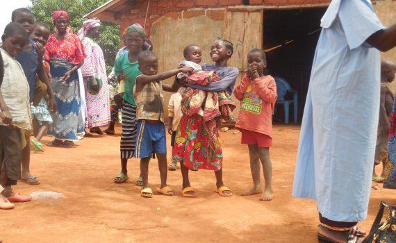 Zdolne dzieci z Kameruńskich wsi