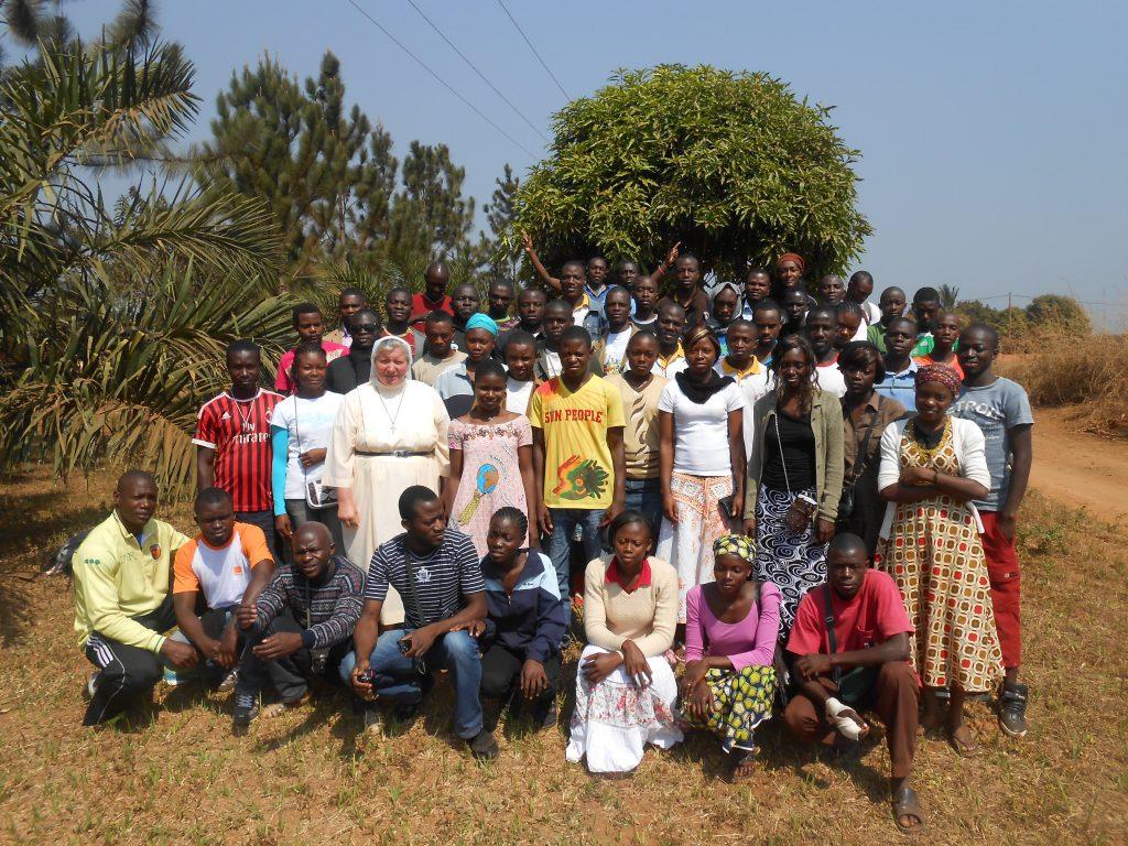Przygotowanie do rekolekcji w Kamerunie